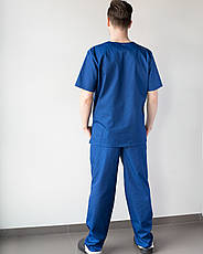 Медицинский костюм Гранит  синий, фото 2