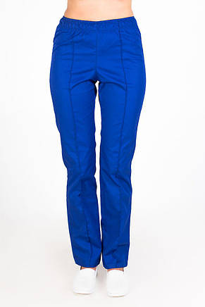 Медицинские женские брюки электрик, фото 2