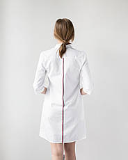 Медицинский женский халат Манхэттэн строчка цветная, фото 2