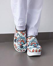 """Медицинская обувь сабо """"White monkey"""" с подошвой AirMax, фото 2"""