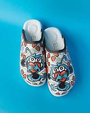 """Медицинская обувь сабо """"White monkey"""" с подошвой AirMax, фото 3"""