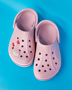 """Кроксы розовые """"Bayaband Clogs"""", фото 2"""