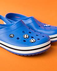 """Кроксы синие  """"Crocsband"""", фото 2"""