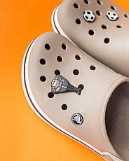 """Кроксы светло-коричневые """"Crocsband"""", фото 3"""