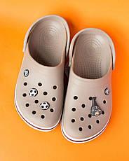 """Кроксы светло-коричневые """"Crocsband"""", фото 2"""