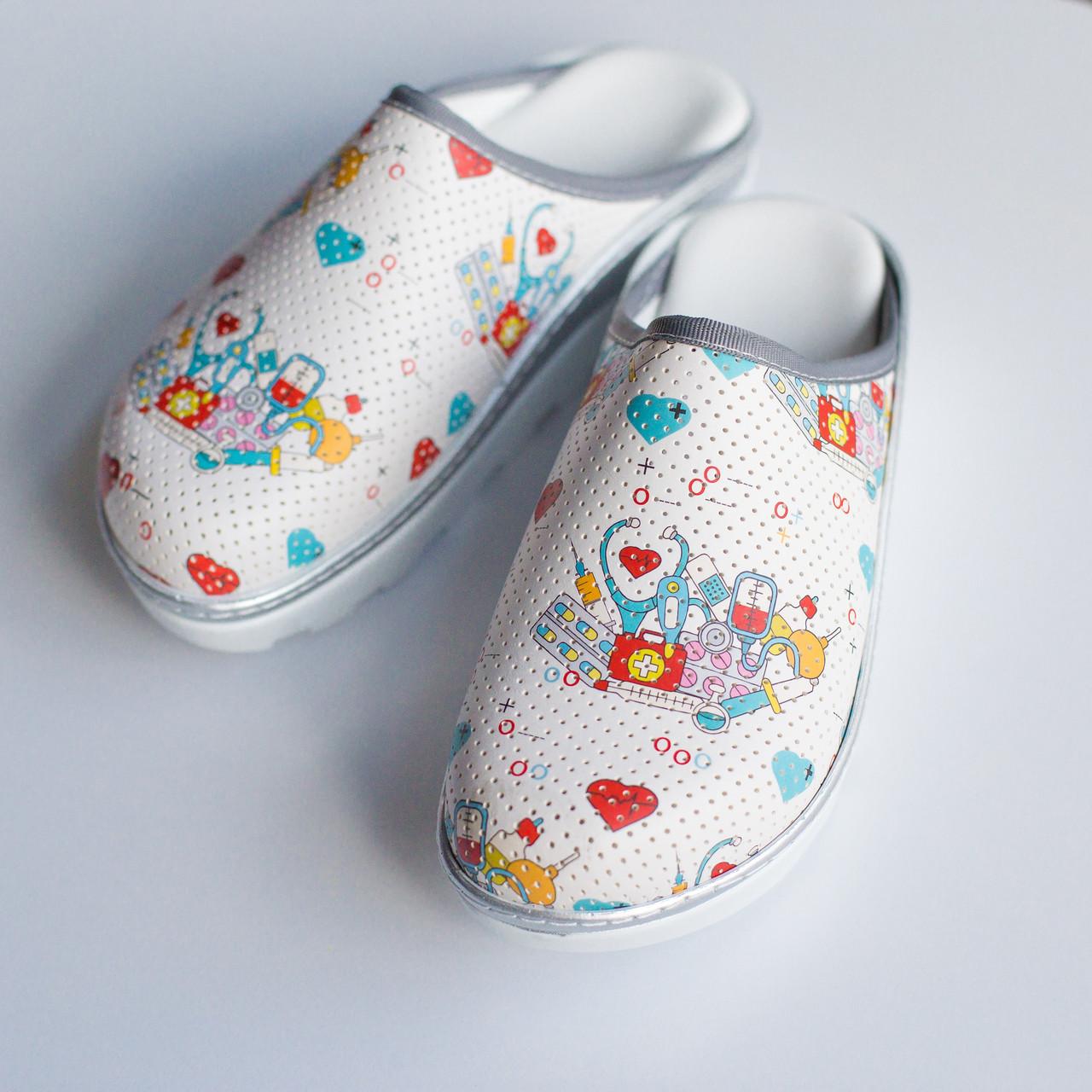 """Медицинская обувь сабо """"Медицина"""""""