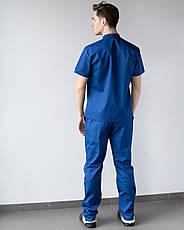 Мужской медицинский костюм Бостон сапфир, фото 2