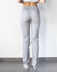 Медицинские женские брюки светло-серые, фото 3