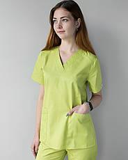 Медицинский женский костюм Toronto lime 40, 42, 44, фото 2