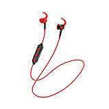 Bluetooth-навушники Hoco ES30 Axestone sports Red, фото 3