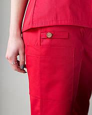 Медицинский женский костюм Toronto red 42,44, фото 3