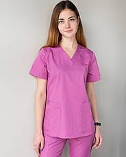 Медицинский женский костюм Toronto berry 40, 42, фото 2