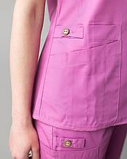 Медицинский женский костюм Toronto berry 40, 42, фото 3