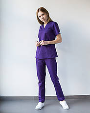 Медицинский женский костюм Toronto violet 48, фото 2