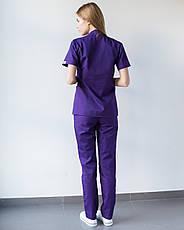 Медицинский женский костюм Toronto violet 48, фото 3