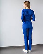 Медицинский женский костюм Шанхай электрик, фото 2