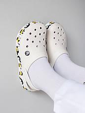 "Кроксы белые ""Fun Lab Minions"", фото 3"