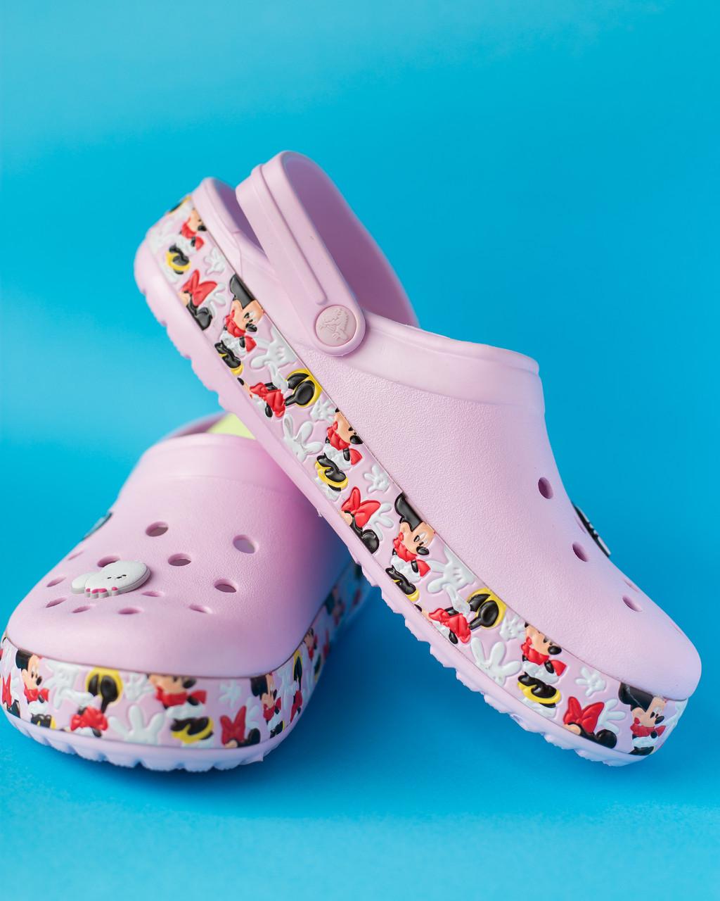 """Кроксы розовые """"Fun Lab Disney"""""""