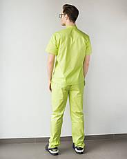 Медицинский мужской костюм Бостон лайм ,50, фото 2