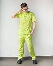 Медицинский мужской костюм Бостон лайм ,50, фото 3