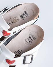 Ортопедическая обувь сабо с принтом HEART, фото 2