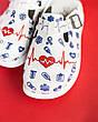 Обувь сабо на платформе с принтом LIFE, фото 4