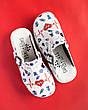 Обувь сабо на платформе с принтом LIFE, фото 6