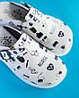 Обувь сабо на платформе с принтом NURSE, фото 2