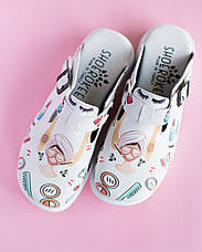 Обувь сабо на платформе с принтом BEAUTY AESTHETIC, фото 3