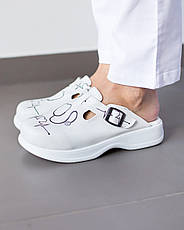 Обувь сабо на платформе с принтом STETHOSCOPE, фото 2