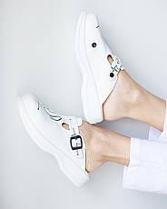 Обувь сабо на платформе с принтом STETHOSCOPE, фото 3