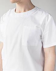 Медичний чоловічий костюм Техас білий, фото 3