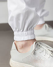 Медичний чоловічий костюм Техас білий, фото 2