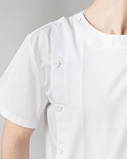 Медицинский мужской костюм Техас белый, фото 3