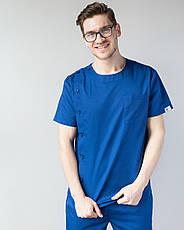 Медицинский мужской костюм Техас синий, фото 3