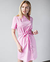 Медицинская Туника Наоми розовая