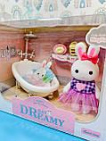 Кукольная мебель с зайчиками 6621, Ванная, фото 2