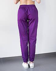 Медицинские женские джоггеры фиолетовые, фото 2