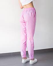 Медицинские женские джоггеры розовые, фото 2