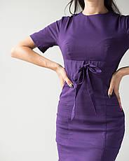 Медицинское платье Скарлетт фиолетовый, фото 3