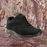 Кросівки Pantherа чорні нубук 3D-сітка Airmesh, фото 5