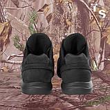 Кросівки Pantherа чорні нубук 3D-сітка Airmesh, фото 7