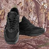 Кросівки Pantherа чорні нубук 3D-сітка Airmesh, фото 4