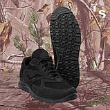 Кросівки Pantherа чорні нубук 3D-сітка Airmesh, фото 6