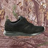 Кросівки Pantherа чорні нубук 3D-сітка Airmesh, фото 2