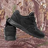 Кросівки Pantherа чорні нубук 3D-сітка Airmesh, фото 3