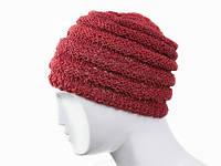 Вязанная одноцветная шапка Класик в ассортименте