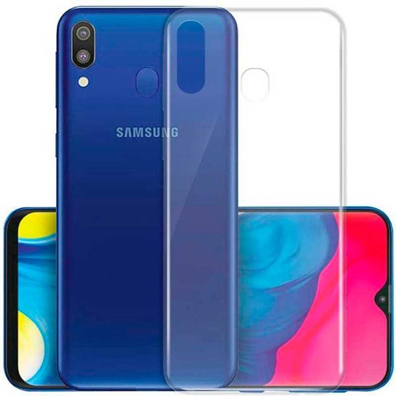 Чохол для Samsung Galaxy A7 2018 силіконовий прозорий бампер