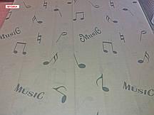 Двоспальний підодіяльник з бязі - Музика