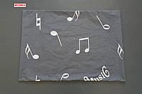 Наволочка бязь 50х70 - Музика, низ
